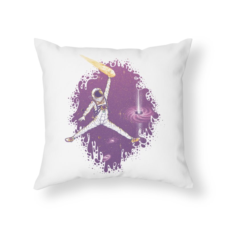 Space Jamz Home Throw Pillow by Made With Awesome