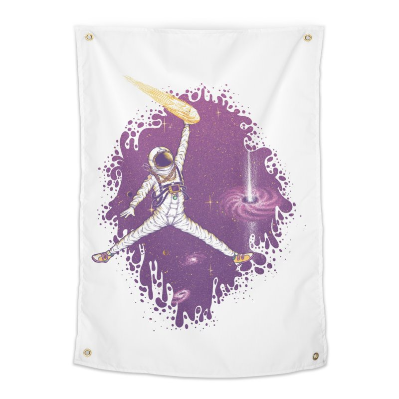 Space Jamz Home Tapestry by Made With Awesome