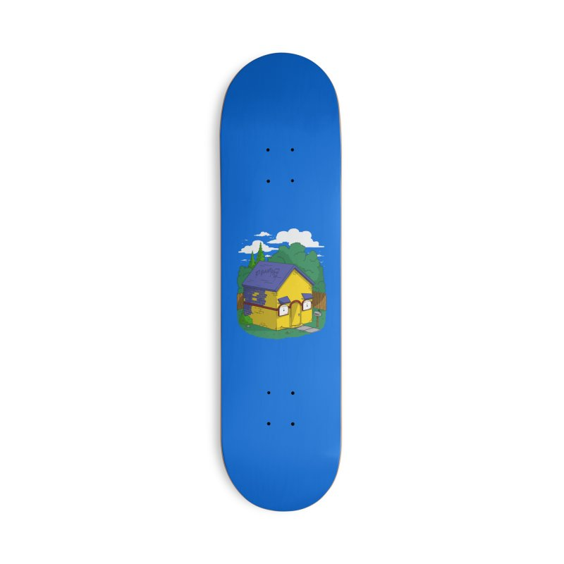 Whose House? Milhouse! Accessories Skateboard by Made With Awesome
