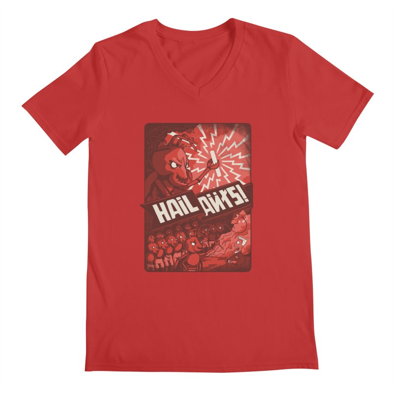 Hail Ants Men's V-Neck by Made With Awesome