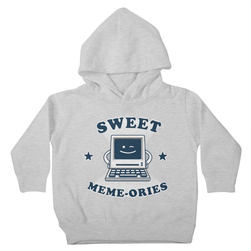 Sweet Meme-ories Kids Toddler Pullover Hoody by Made With Awesome