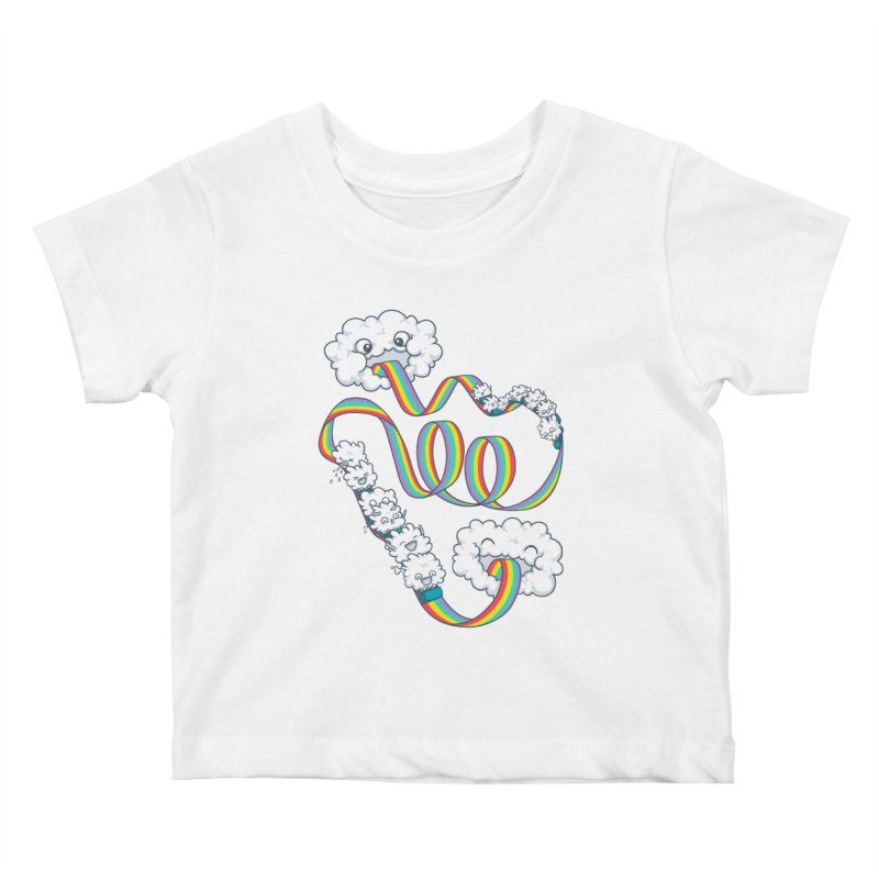 Rainbow Coaster Kids Baby T-Shirt by Made With Awesome