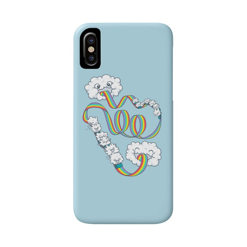 Rainbow Coaster Accessories Phone Case by Made With Awesome