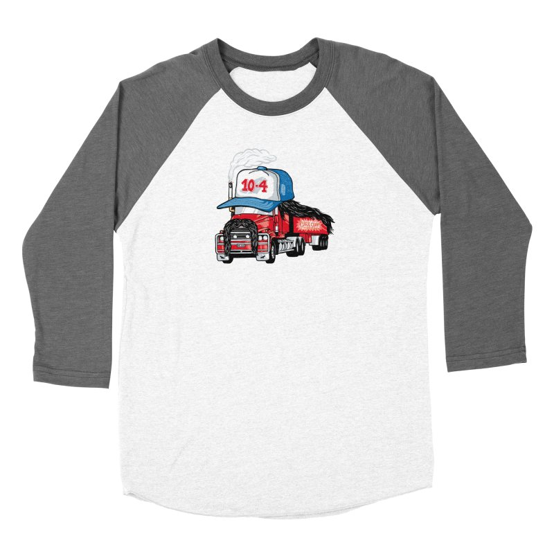 Trucker Hat Women's Longsleeve T-Shirt by Made With Awesome