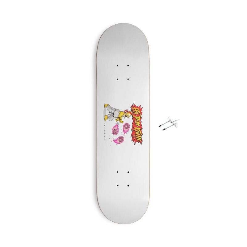 Sweet Fighter Accessories Skateboard by Made With Awesome