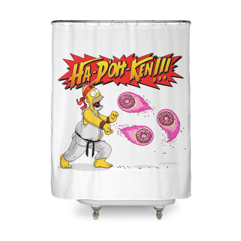 Sweet Fighter Home Shower Curtain by Made With Awesome