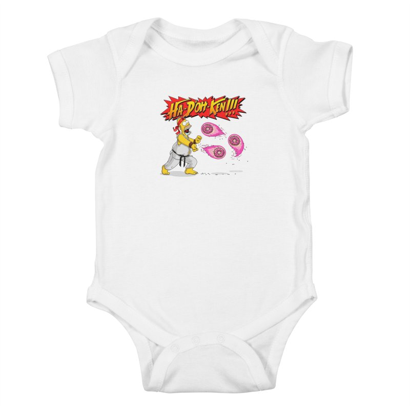 Sweet Fighter Kids Baby Bodysuit by Made With Awesome