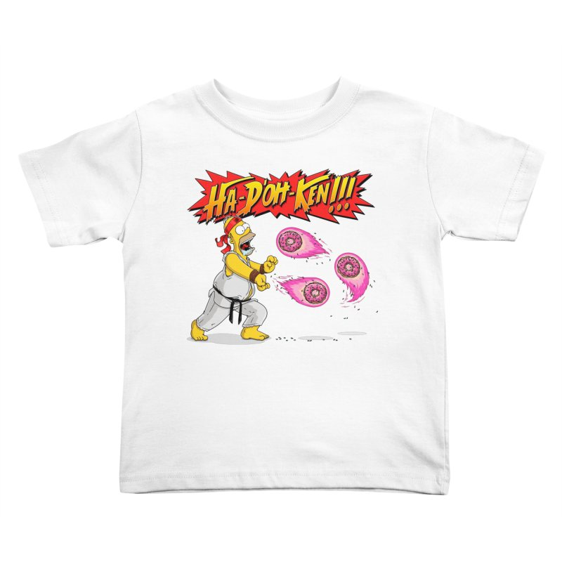 Sweet Fighter Kids Toddler T-Shirt by Made With Awesome