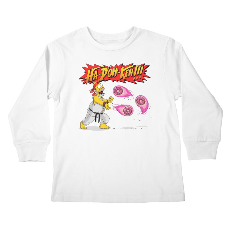 Sweet Fighter Kids Longsleeve T-Shirt by Made With Awesome