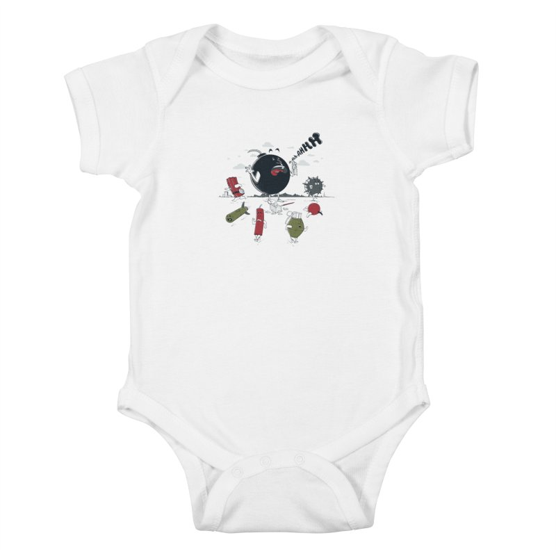 Blown Away Kids Baby Bodysuit by Made With Awesome
