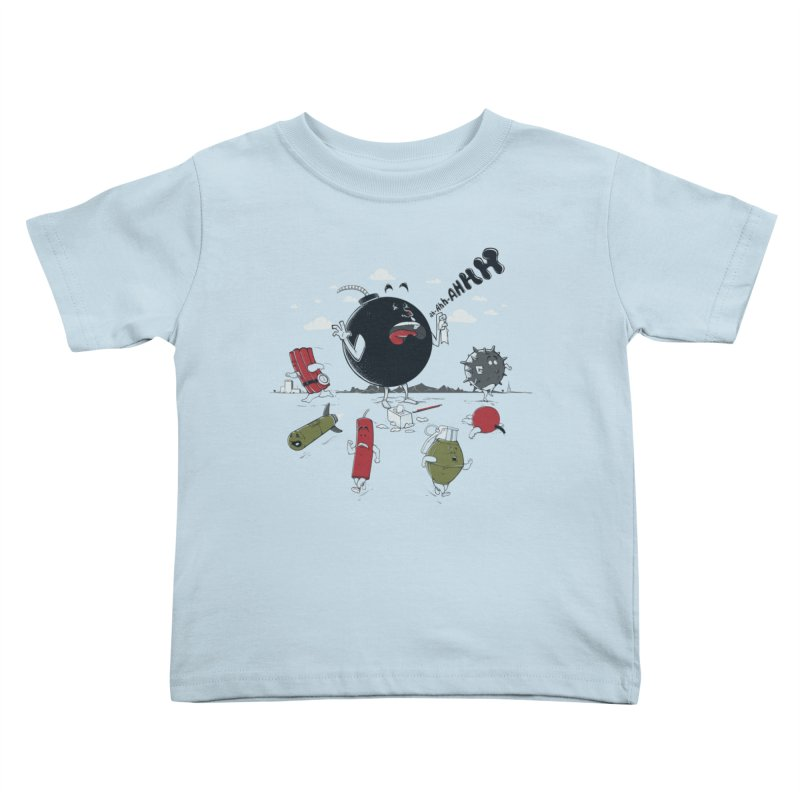 Blown Away Kids Toddler T-Shirt by Made With Awesome