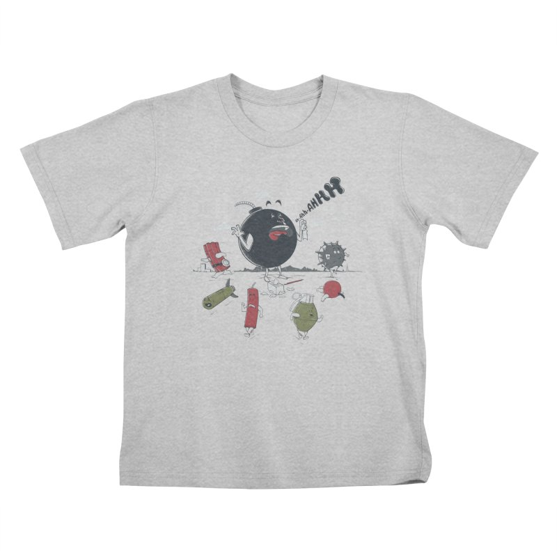 Blown Away Kids T-Shirt by Made With Awesome