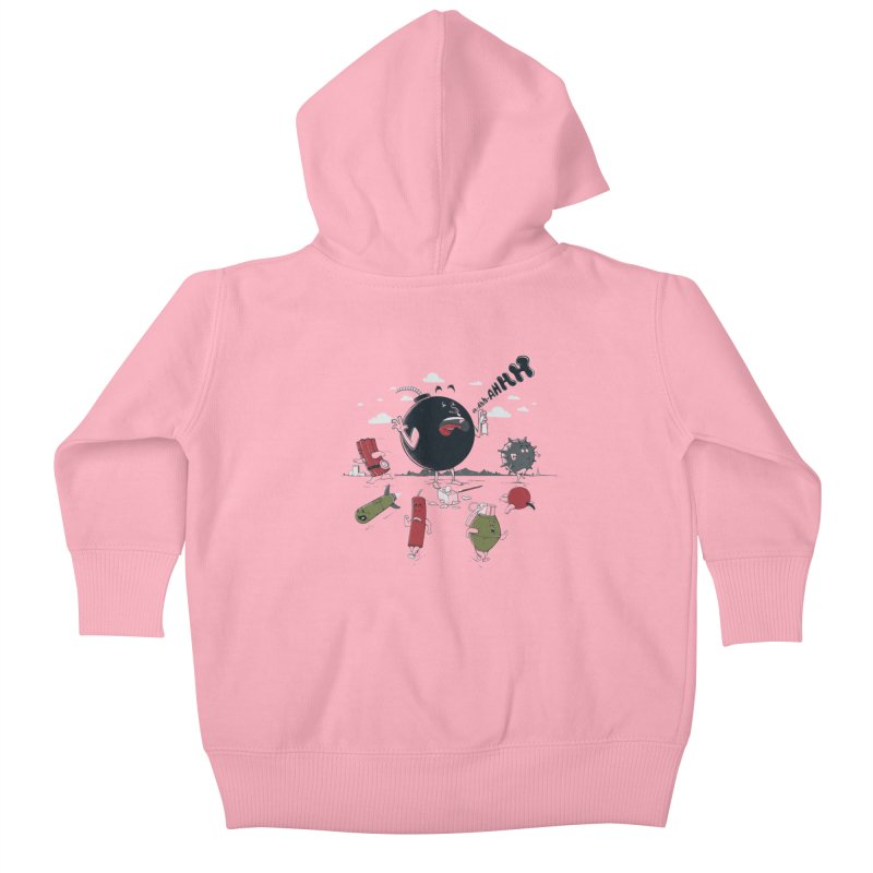 Blown Away Kids Baby Zip-Up Hoody by Made With Awesome