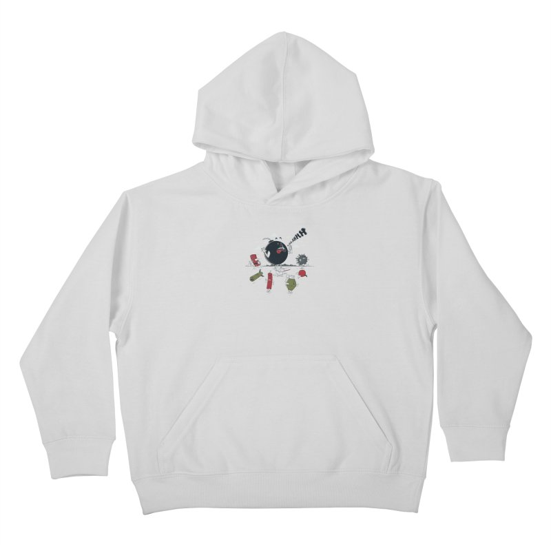 Blown Away Kids Pullover Hoody by Made With Awesome