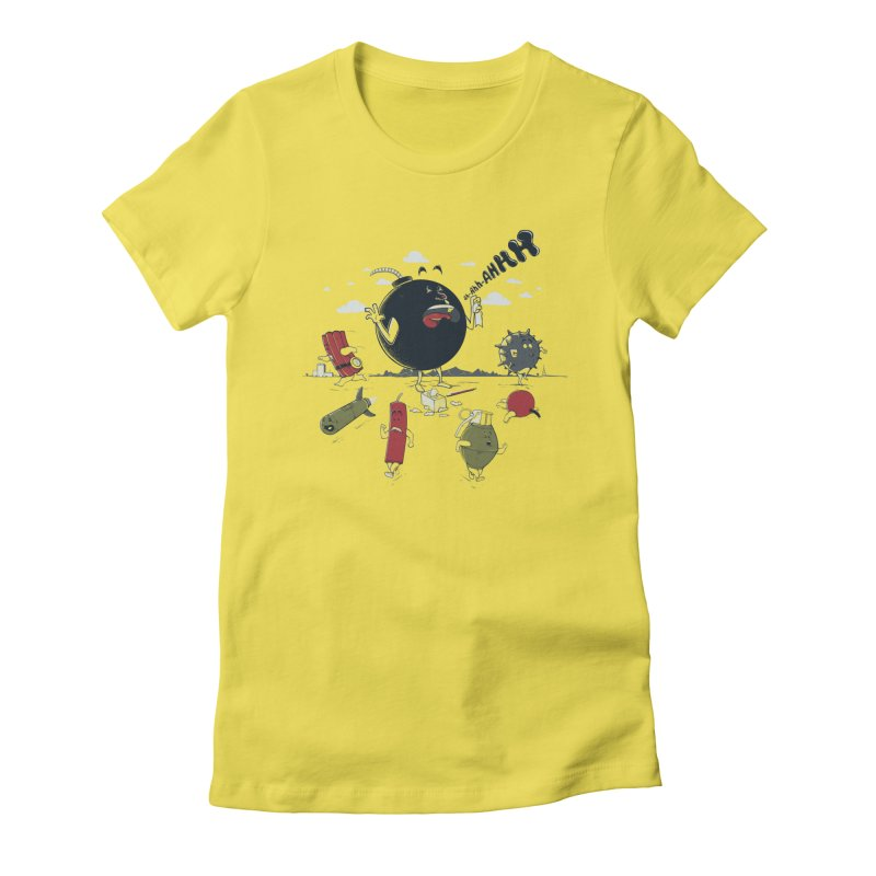 Blown Away Women's T-Shirt by Made With Awesome
