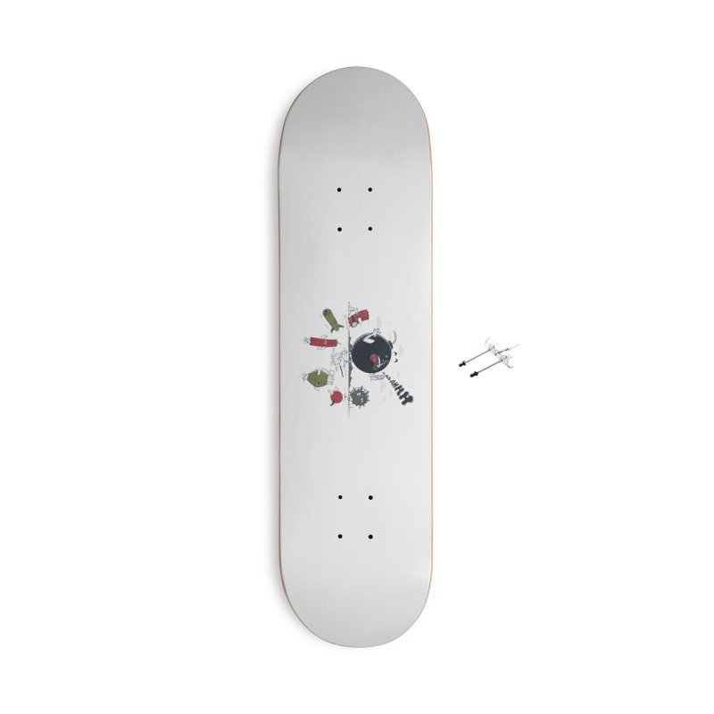 Blown Away Accessories Skateboard by Made With Awesome