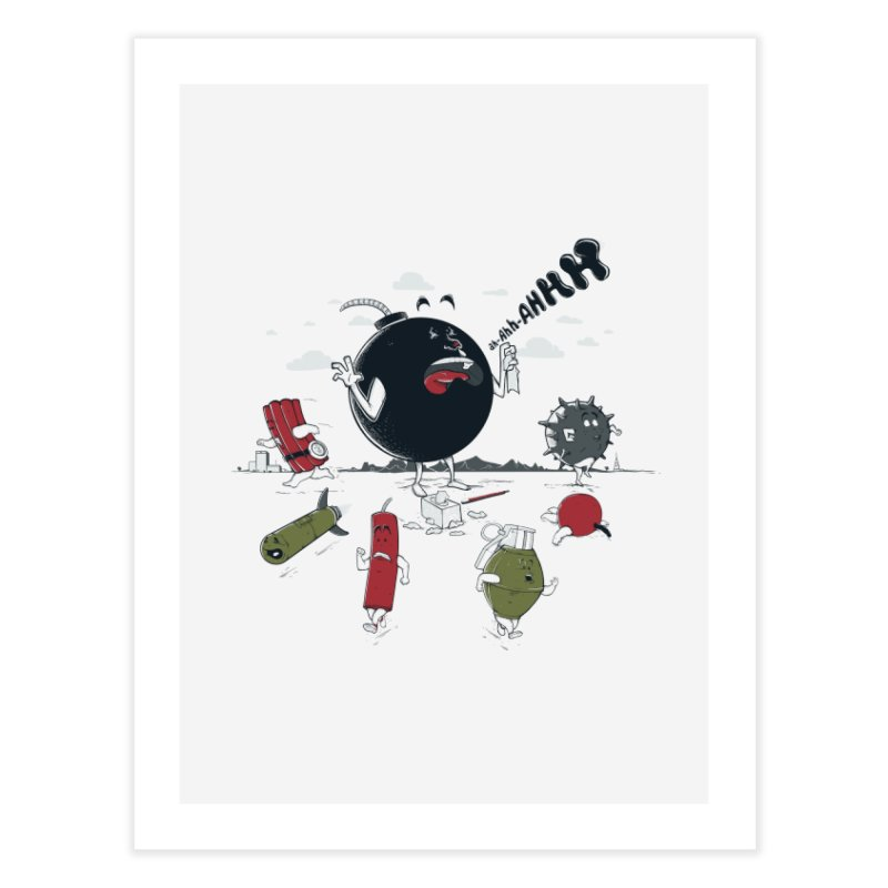 Blown Away Home Fine Art Print by Made With Awesome