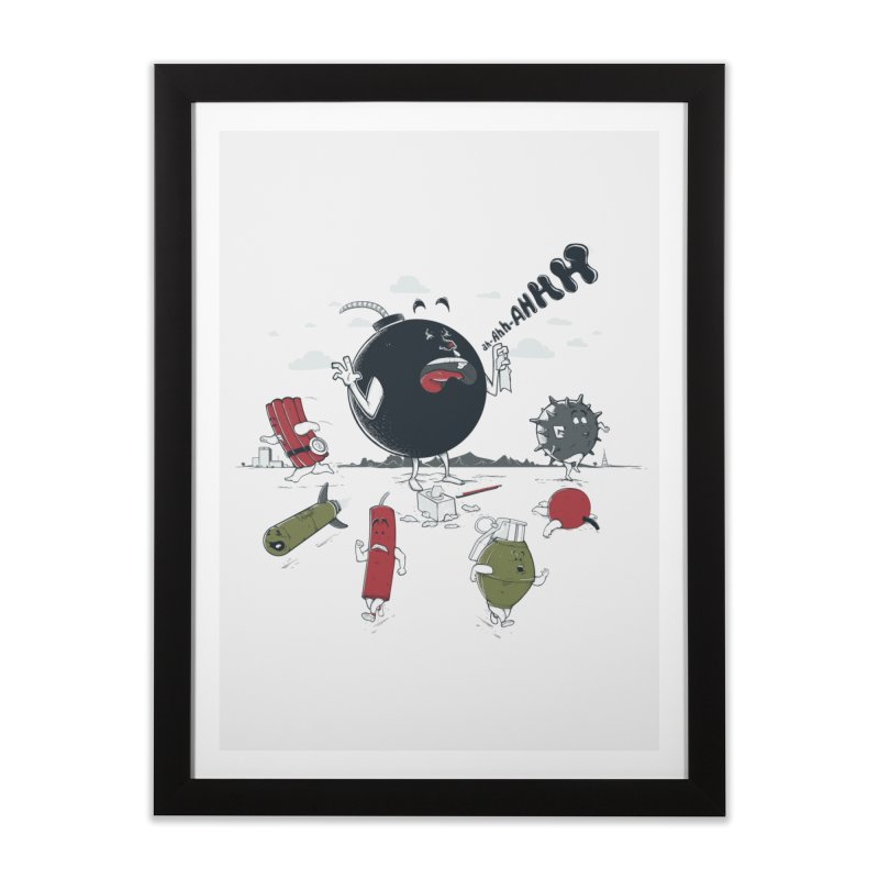 Blown Away Home Framed Fine Art Print by Made With Awesome