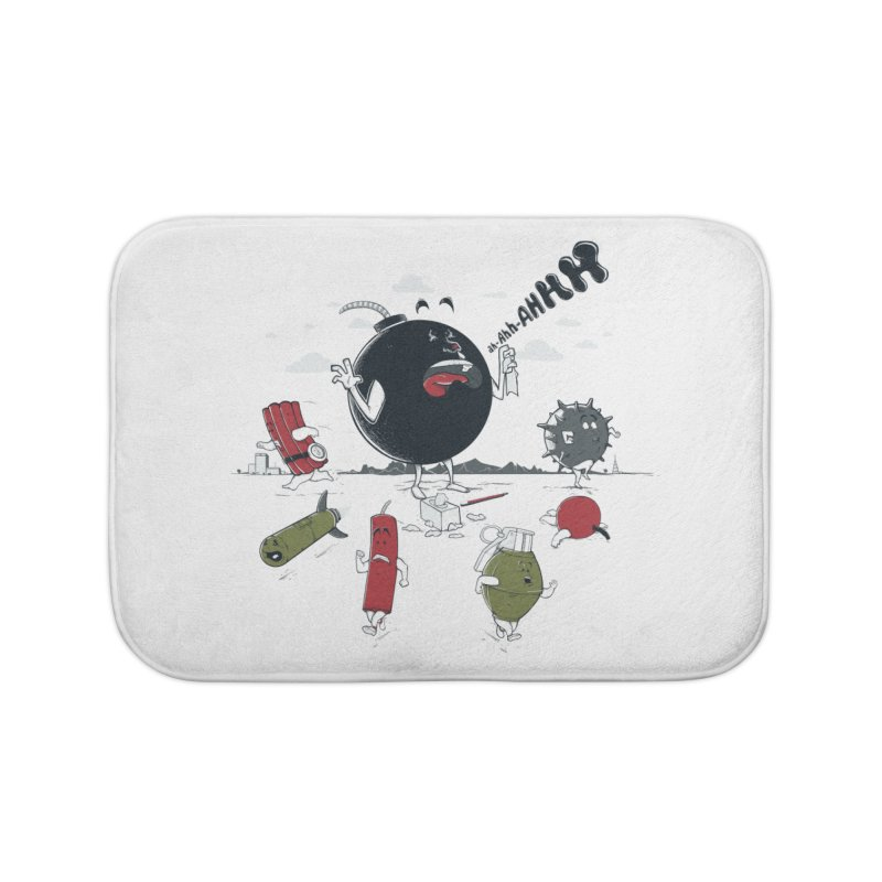 Blown Away Home Bath Mat by Made With Awesome