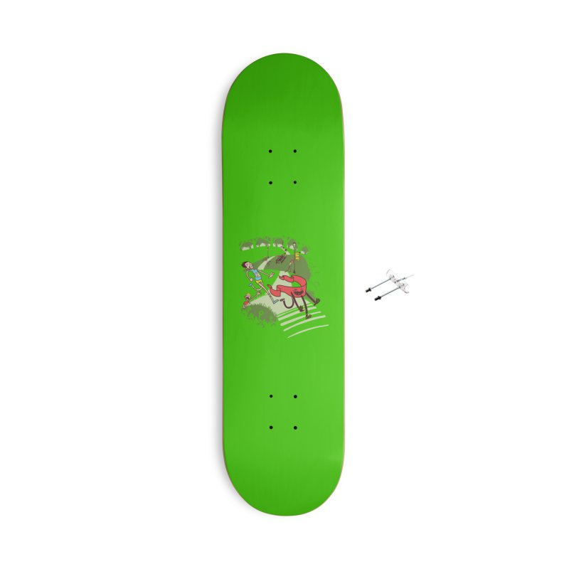 Not Quite Finished Line Accessories Skateboard by Made With Awesome