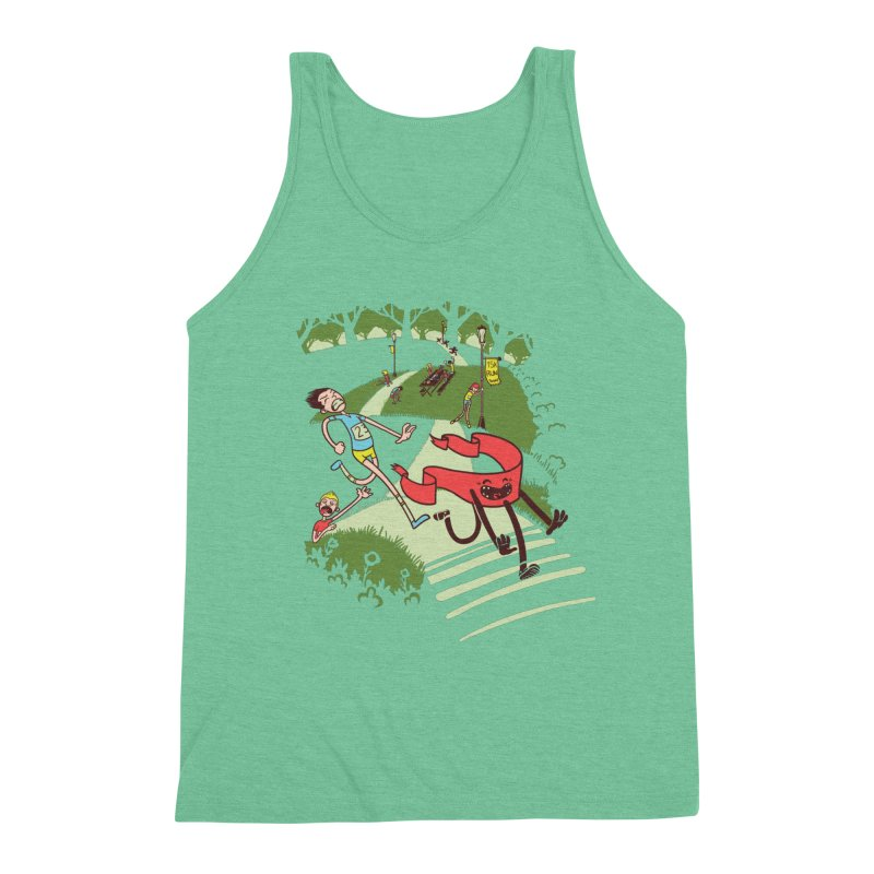 Not Quite Finished Line Men's Tank by Made With Awesome