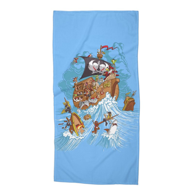 Noah's Arrrk Accessories Beach Towel by Made With Awesome