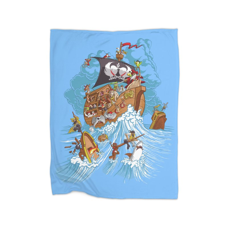 Noah's Arrrk Home Blanket by Made With Awesome
