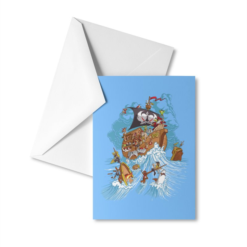 Noah's Arrrk Accessories Greeting Card by Made With Awesome