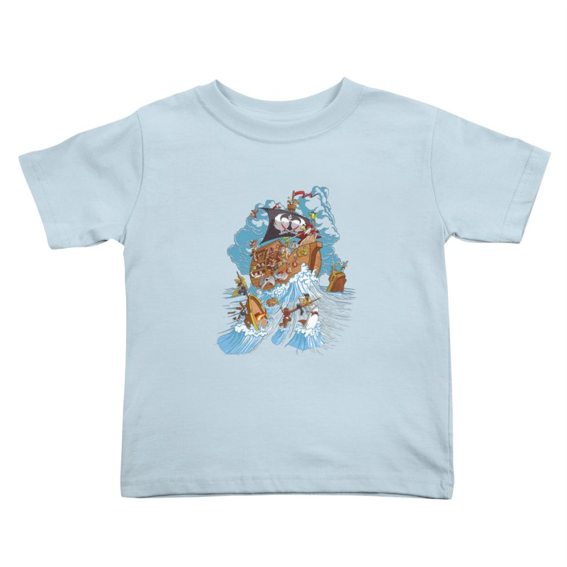 Noah's Arrrk Kids Toddler T-Shirt by Made With Awesome