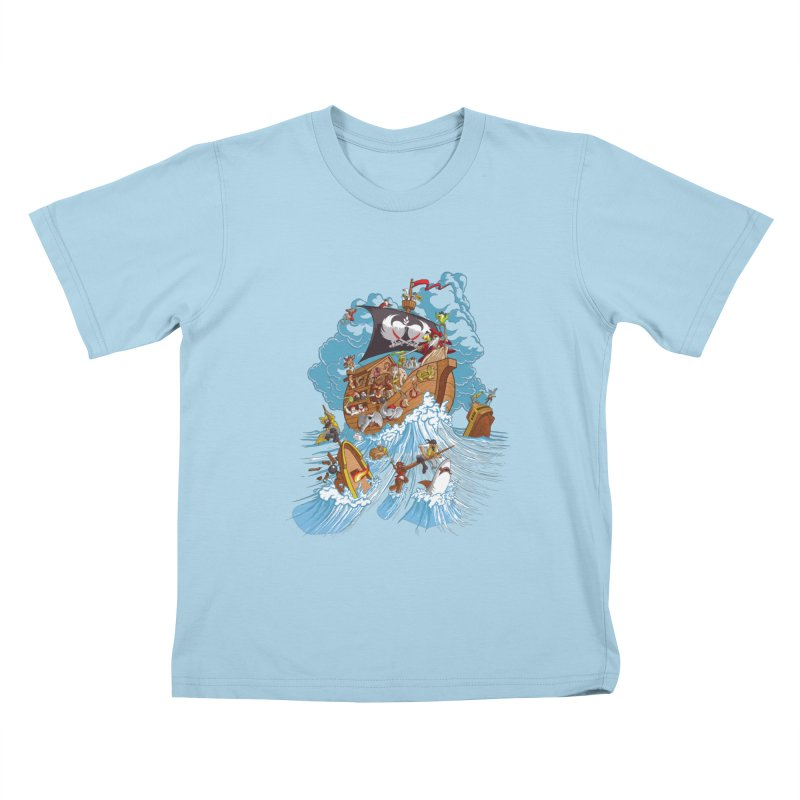 Noah's Arrrk Kids T-Shirt by Made With Awesome