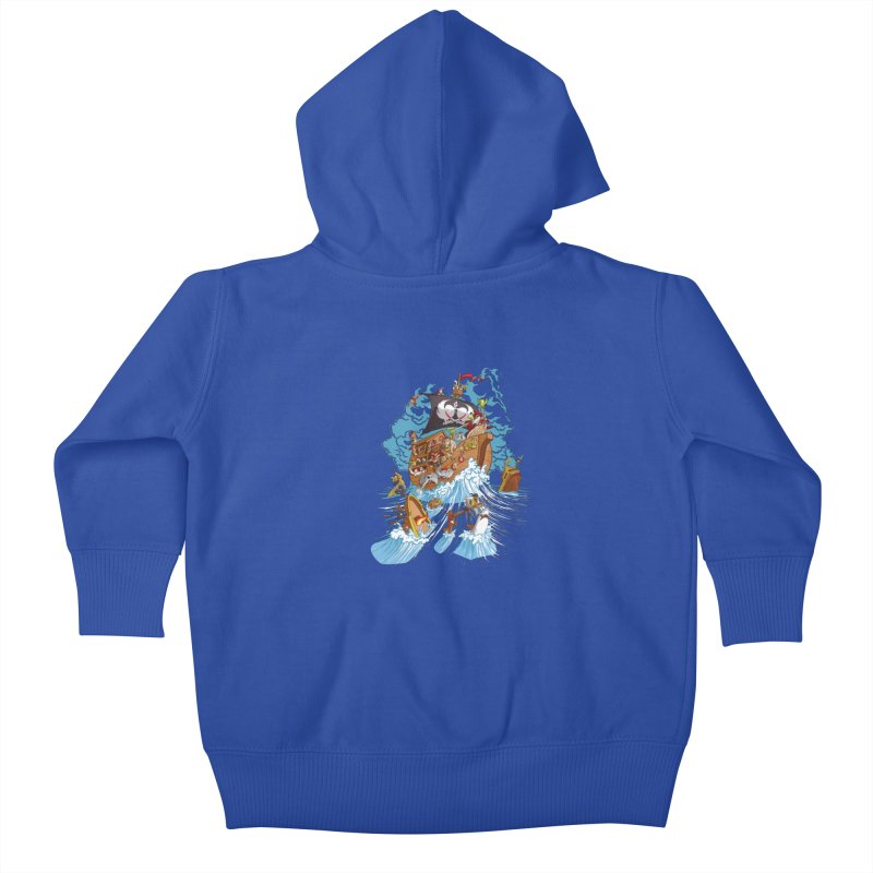 Noah's Arrrk Kids Baby Zip-Up Hoody by Made With Awesome