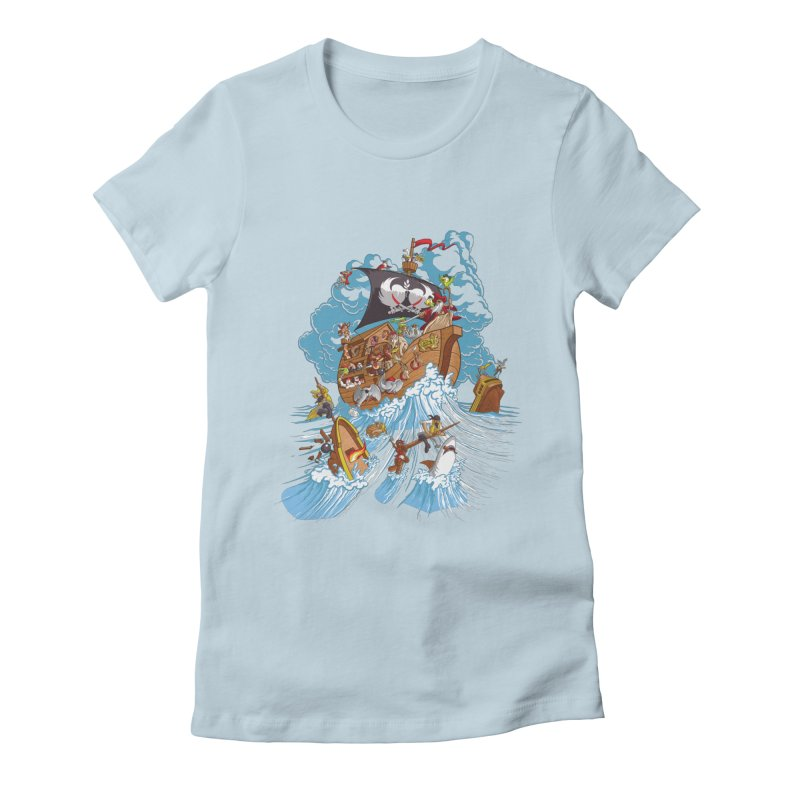 Noah's Arrrk Women's T-Shirt by Made With Awesome