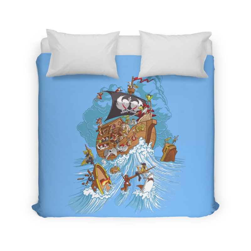 Noah's Arrrk Home Duvet by Made With Awesome