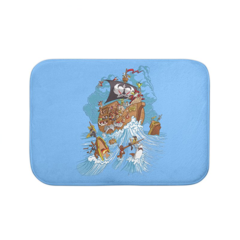 Noah's Arrrk Home Bath Mat by Made With Awesome