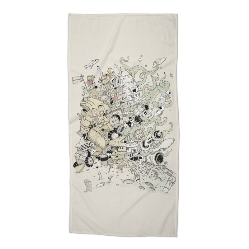Imagine Nation Accessories Beach Towel by Made With Awesome