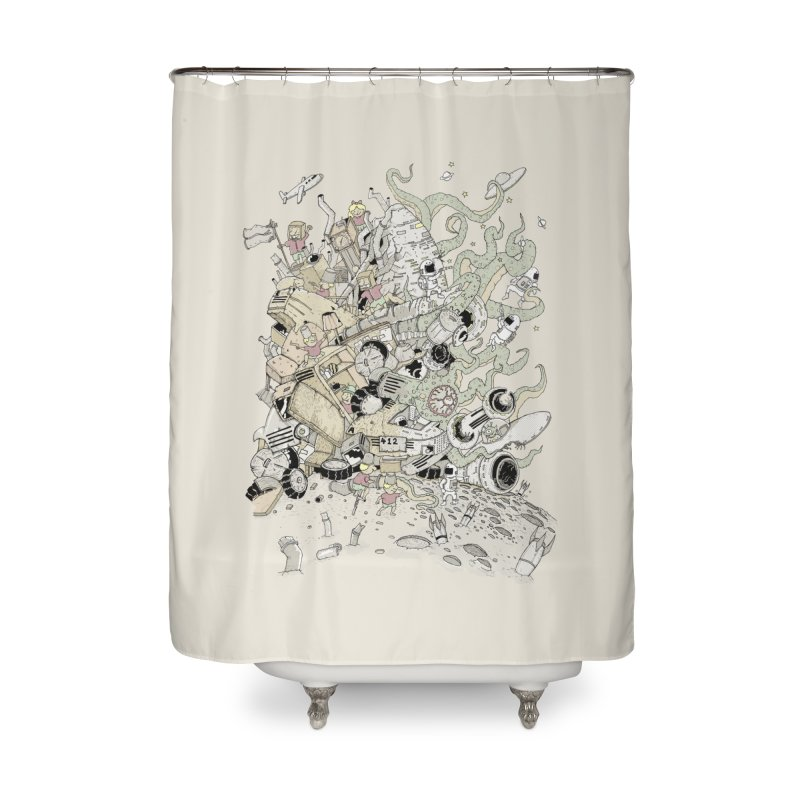 Imagine Nation Home Shower Curtain by Made With Awesome