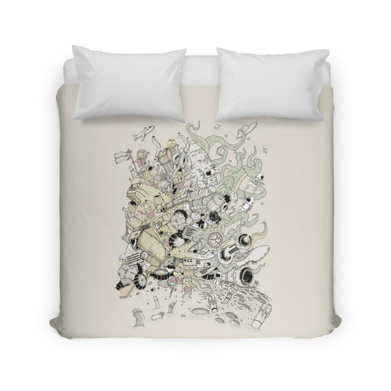 Imagine Nation Home Duvet by Made With Awesome