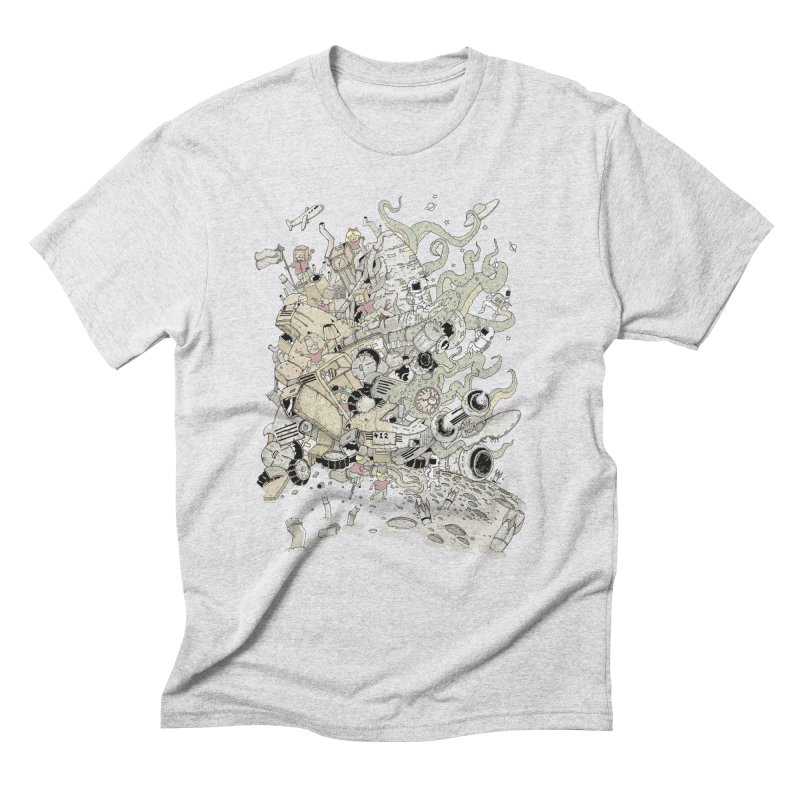 Imagine Nation Men's T-Shirt by Made With Awesome