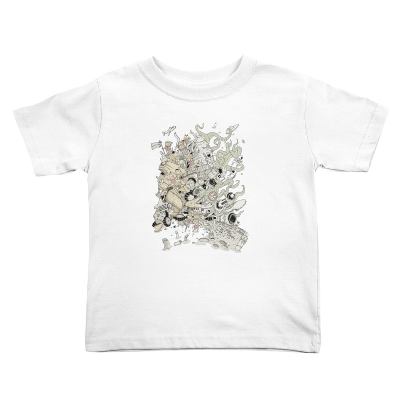 Imagine Nation Kids Toddler T-Shirt by Made With Awesome
