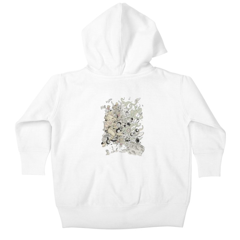 Imagine Nation Kids Baby Zip-Up Hoody by Made With Awesome