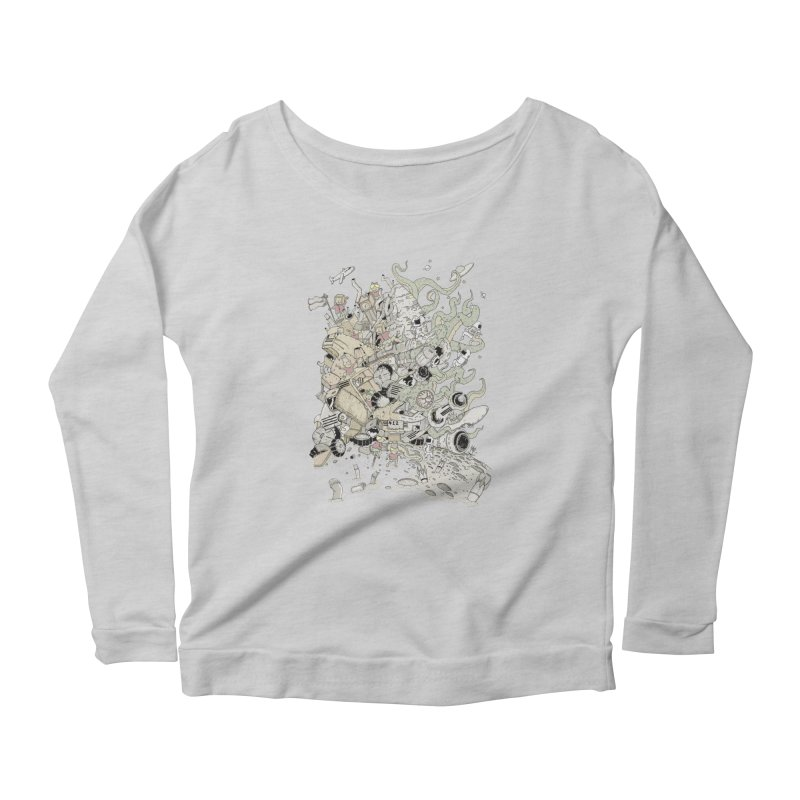 Imagine Nation Women's Longsleeve T-Shirt by Made With Awesome