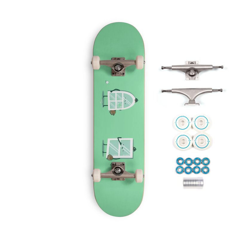 Window Pain Accessories Skateboard by Made With Awesome