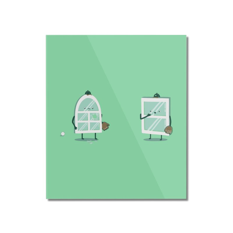 Window Pain Home Mounted Acrylic Print by Made With Awesome