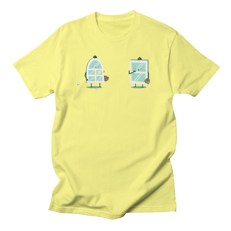 Window Pain Men's T-Shirt by Made With Awesome