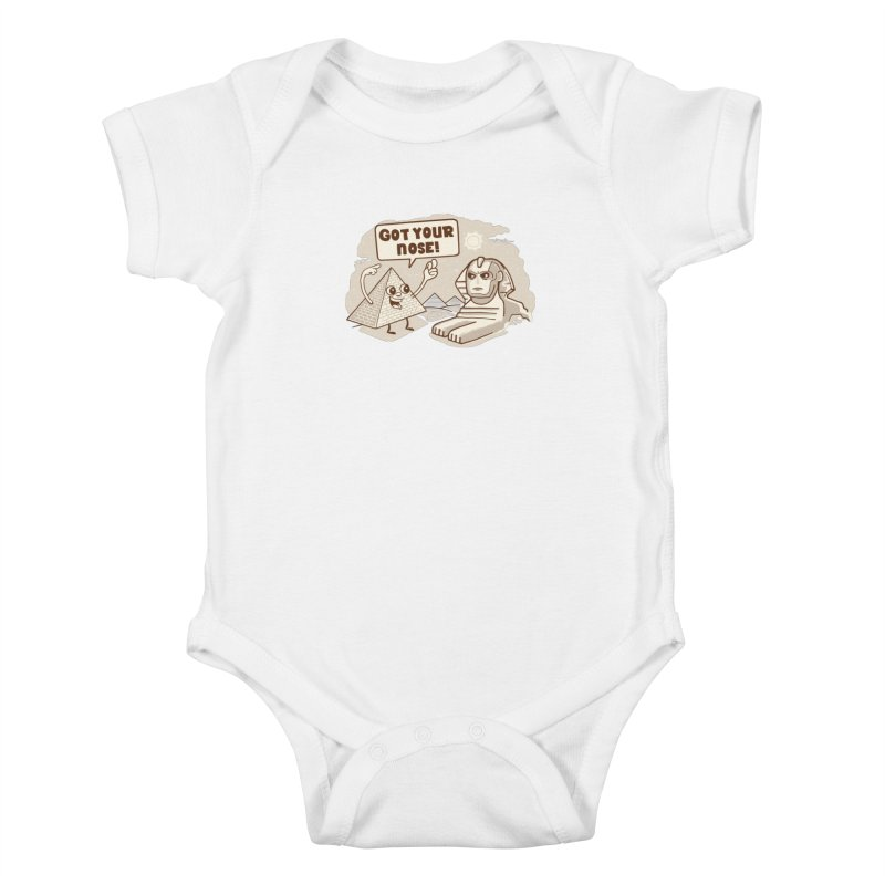 Sphinx Hijinks Kids Baby Bodysuit by Made With Awesome