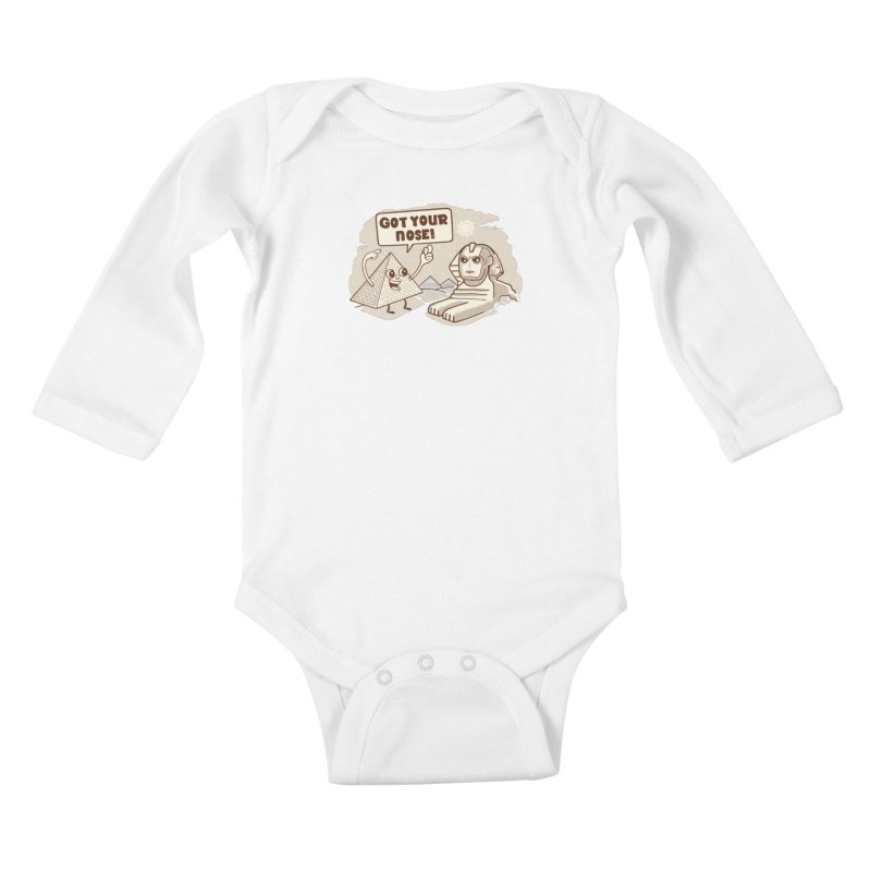 Sphinx Hijinks Kids Baby Longsleeve Bodysuit by Made With Awesome