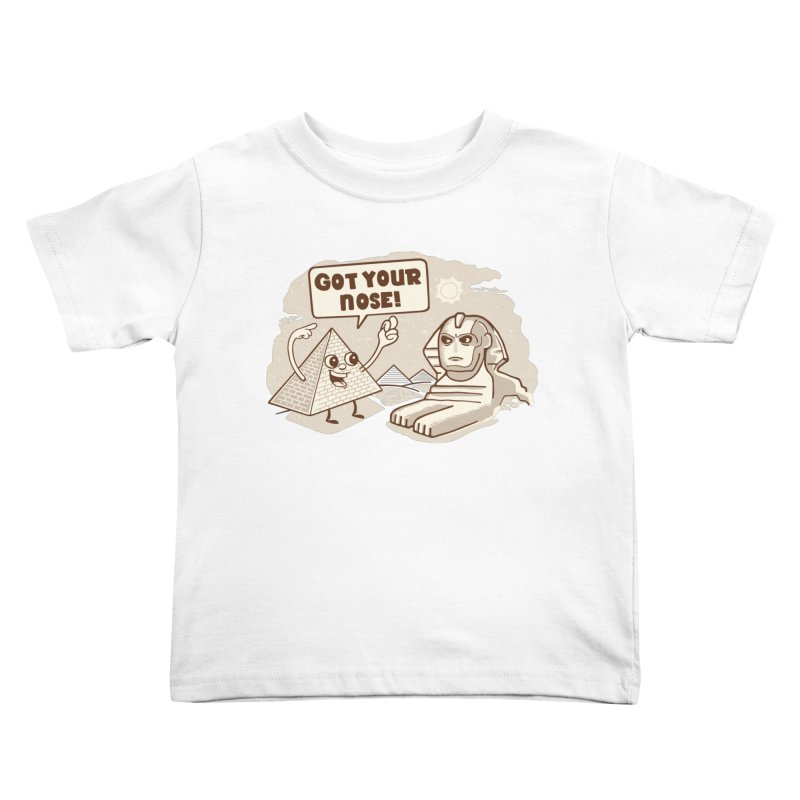 Sphinx Hijinks Kids Toddler T-Shirt by Made With Awesome