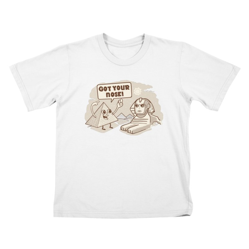 Sphinx Hijinks Kids T-Shirt by Made With Awesome
