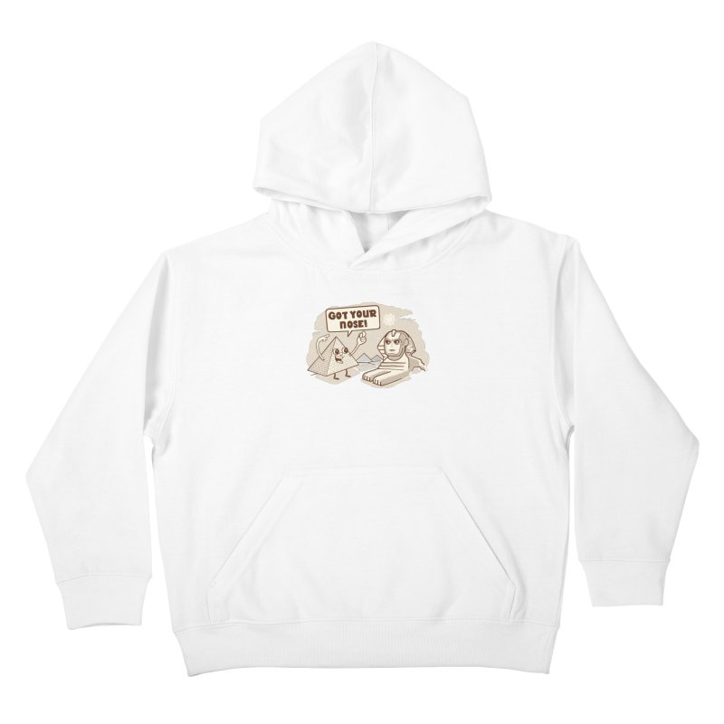 Sphinx Hijinks Kids Pullover Hoody by Made With Awesome