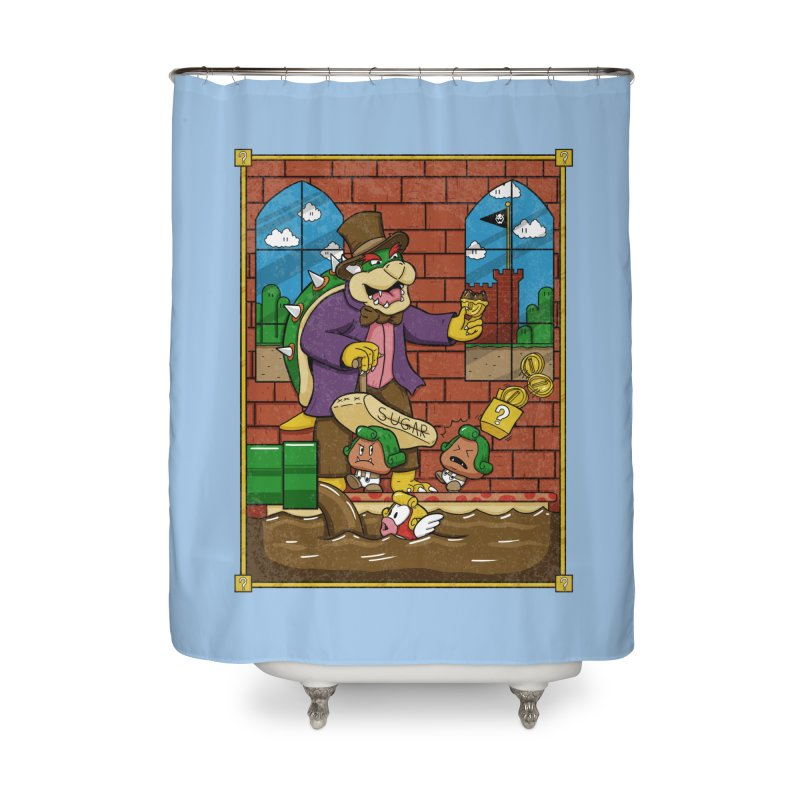 Oompa Goombas Home Shower Curtain by Made With Awesome